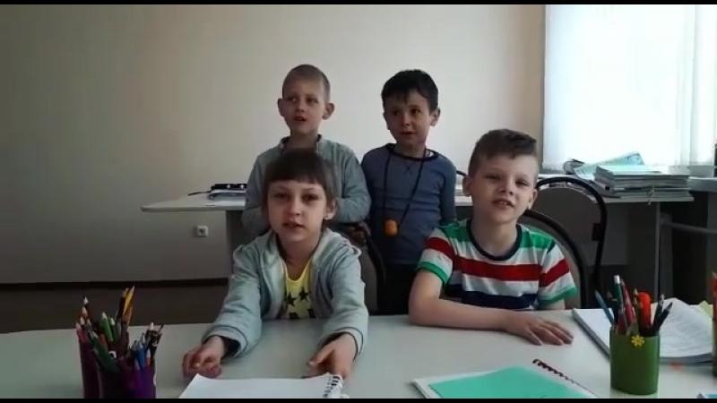 Любимый учитель Мархабат Бауржановна ❤ Вот так ждут учителя с больничного 😇😇😇 Наши сладкие детки 🍓