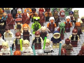 Лего Звёздные войны минифигурки - LEGO Star Wars minifigures - Обзоры Лего