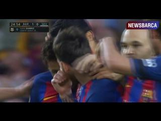 Барселона 1-0 Севилья  Суарес