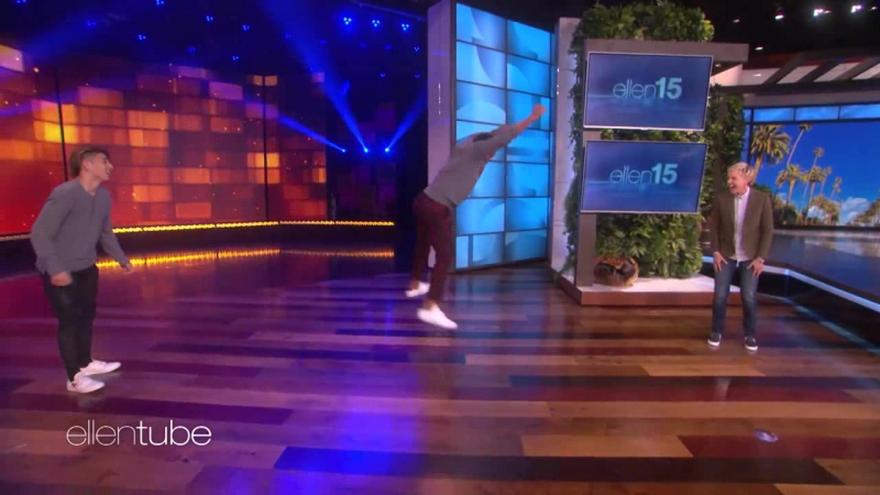Anthony Anderson Competes in Dance-Off Against SYTYCD Winner RUS SUB