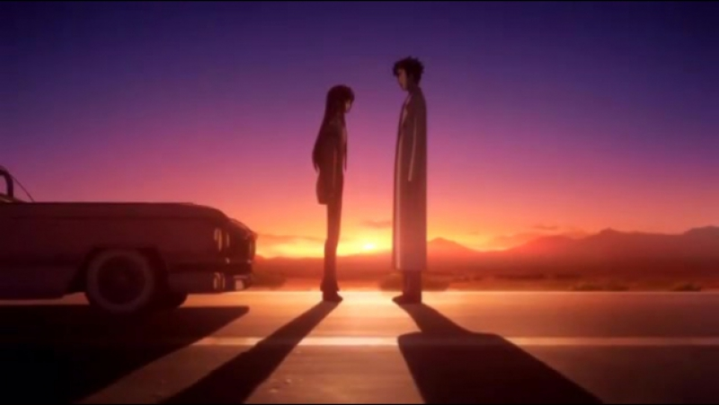 Момент из 25 серии аниме Врата Штейна / Steins;Gate
