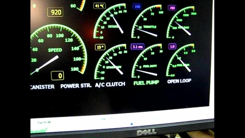 Адаптер для диагностики старых Фордов с системой управления двигателя EEC IV