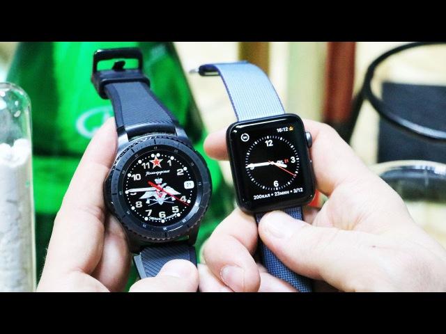 Полный обзор часов Samsung Gear S3 Frontier