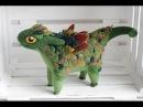 валяные драконы-Делаем фетровые перышки-чешую