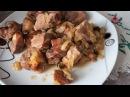 Шашлык в рукаве в духовке/мясо как шашлык