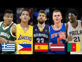 Best NBA Player By Country