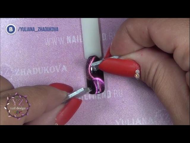 🔮 Юлиана Жадукова 👁 демонстрирует непревзойденный 🌟 гель-лак INFINITI 💅 от Nika N...