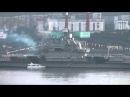 Фрагмент парада военных кораблей в Североморске 27.07.14