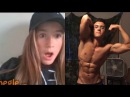 Aesthetics on Omegle - 17 YEAR OLD Shows Off Aesthetics - Girls Cant Believe Its Real!