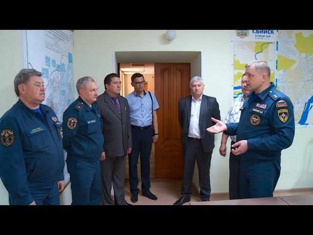 Генерал раскритиковал работу ЕДДС в Бийске (Будни, 24.05.17г., Бийское телевидение)