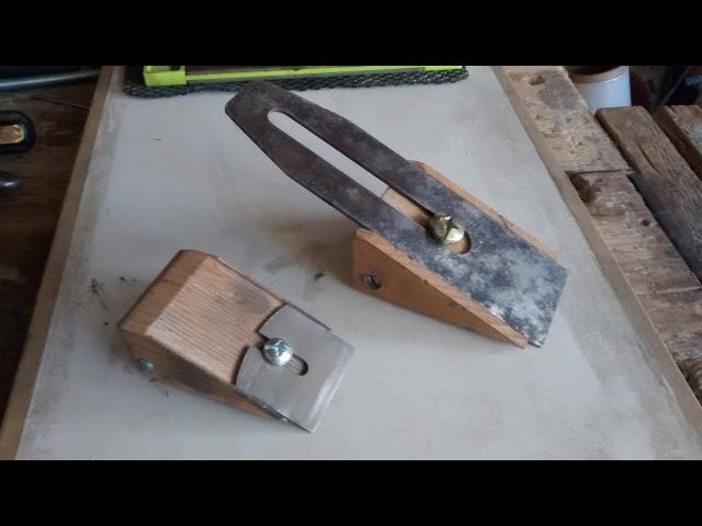 Como hacer tu propio afilador para cuchillas de cepillos
