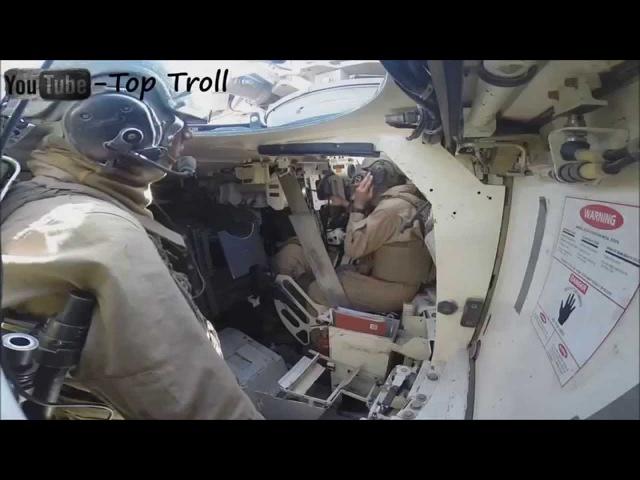 M1A1 Abrams стрельба с танка вид снаружи и внутри HD
