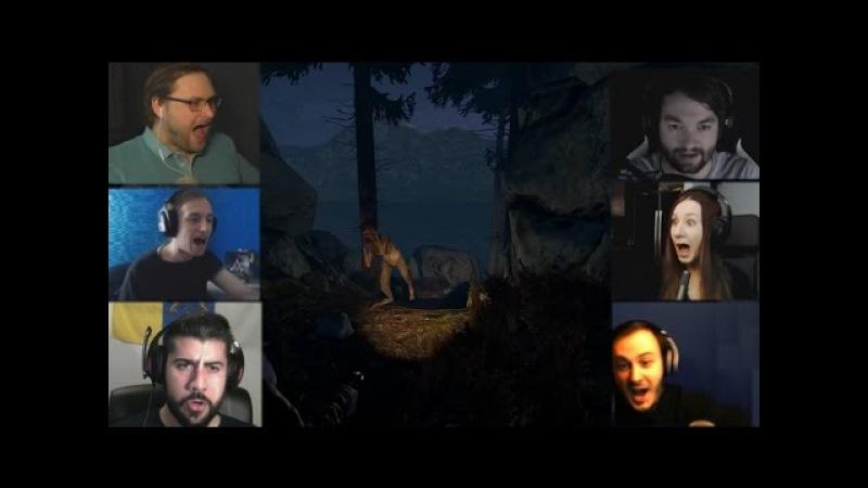 Реакции Летсплейщиков на Хульдру из Through the Woods
