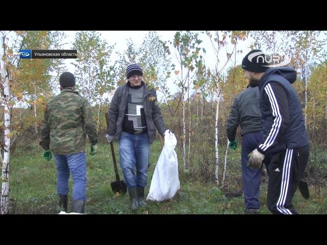 Мусульмане Ульяновска озеленяют город