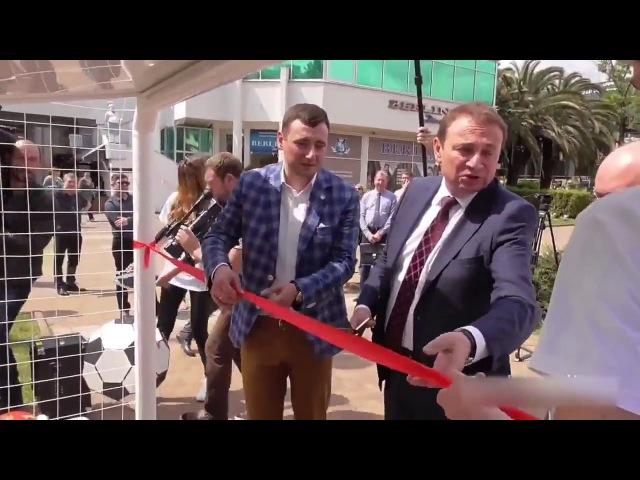 ХэлоуВоркута Торжественное открытие скамейки в Сочи