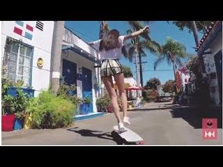 yêu là tha thu tattoo phiên bản đừng đùa gái xinh lướt ván siêu đỉnh - amazing beautiful girl