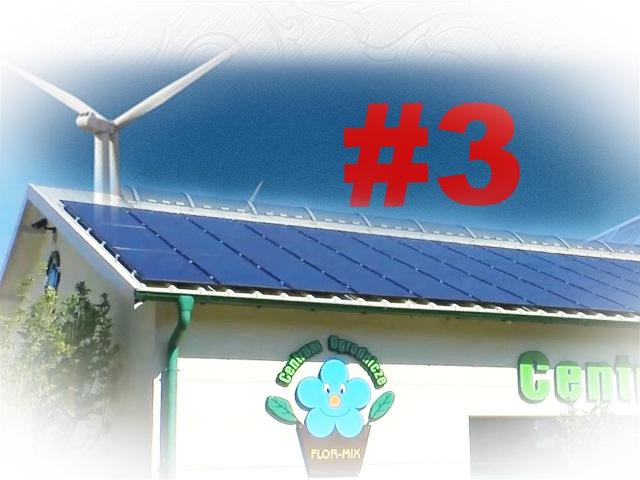 3 - Солнечные панели 40 кВт - Отходы очистных - Изготовление пеллетов (солома, опилки) (Польша ВИЭ)