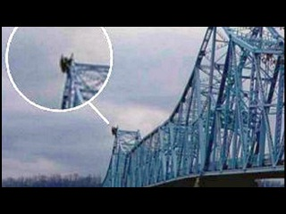 В знаменитом городе Пойнт-Плезант СНОВА засняли странное существо Человек-моты ...