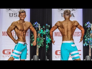 жим! MY FIRST MENS PHYSIQUE SHOW AT 16 YEARS OLD