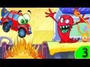 Красная машинка Вилли в опасности Мультик про машинки Мачудики