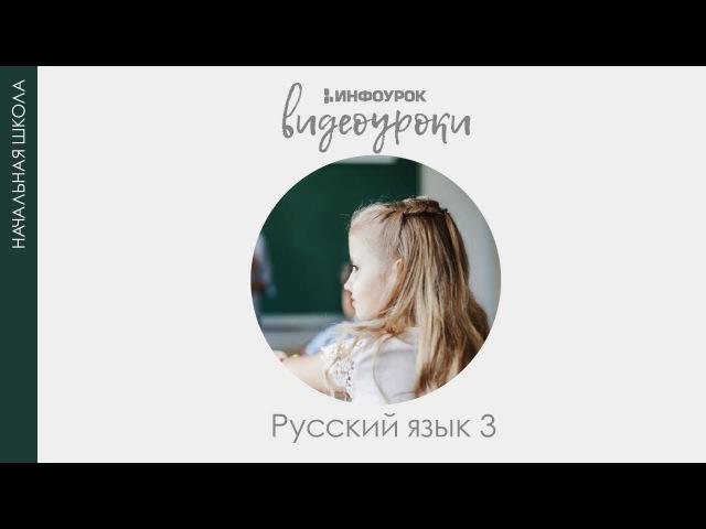 Главные и второстепенные члены предложения | Русский язык 3 класс 2 | Инфоурок