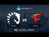 Team Liquid vs FaZe Clan - ESL One New York 2017 - map2 - de_overpass [yXo, CrystalMay]