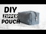 Diy Pouch &amp Travel bag Makeup bag &amp pencil case Back to school !