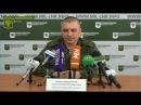 16 ноября 2017 г Заявление представителя НМ ЛНР подполковника Марочко А В