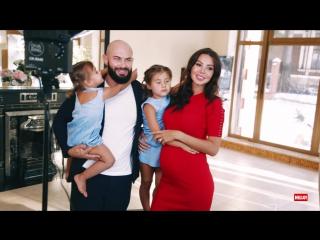Джиган и Оксана Самойлова с детьми: видео из загородного дома