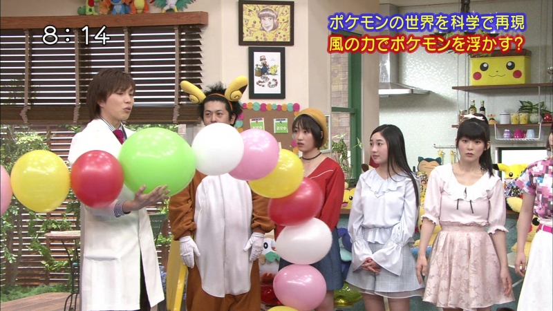 [TV] Pokémon no Uchi Atsumaru? - Kudo Haruka Tsugunaga Momoko, Yanagawa Nanami (TV TOKYO 28/05/2017)