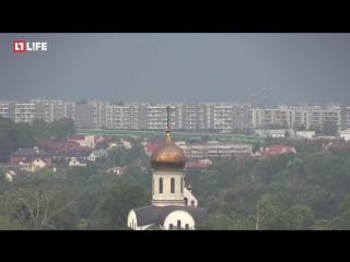 Вторая волна урагана в Москве. LIVE