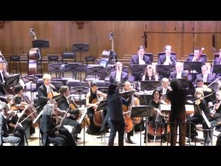 Я. Сибелиус Концерт для скрипки с оркестром Дирижёр —Владимир Юровский Солист —Л. Кавакос