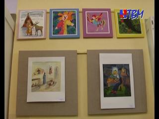 Языком живописи. В минувшую пятницу в детской школе искусств открылось сразу несколько выставок талантливых художников.