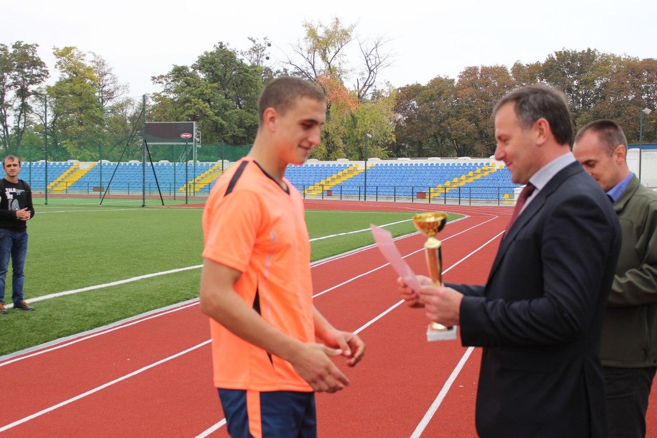 Осенняя часть областной Универсиады началась с турнира футболистов.