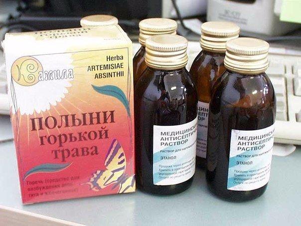 Лечение полынью