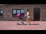 Фитнес в декрете. Тренировка с коляской_ Полезно маме - Весело ребенку