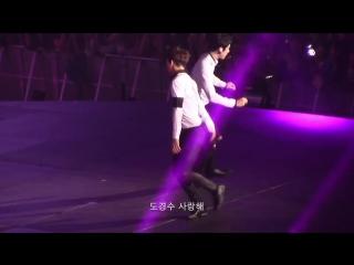 [FANCAM] 160214 EXOPLANET 2 - The EXO'luXion in Los Angeles @ EXO's Kai, Sehun - Playboy