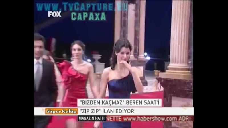 Beren Saat Hazal Kaya Ödül Gecesinde ( 11.05.2010)