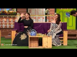 Команда фильма  Ae Dil Hai Mushkil   на шоу Comedy Nights with Kapil с русскими субтитрами.