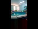 Варюша в бассейне