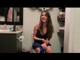 Caught peeing  Amanda Cerny