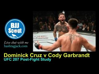 "BJJ Scout: Разбор Боя ""Dominick Cruz vs. Cody Garbrandt"" (русские субтитры)"