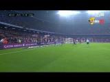 هدف برشلونة الأول فى مرمي غرناطة