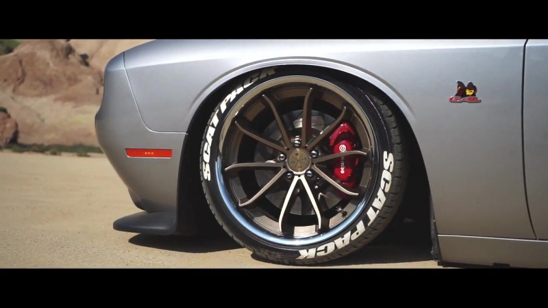 Bagged ScatPack _ Blaque Diamond Wheels