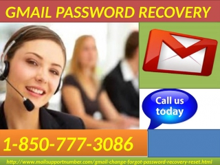Regain access to your hacked account with Gmail Password Recovery 1-850-777-3086