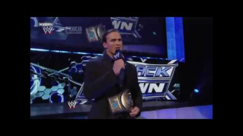 Drew McIntyre gets (Kayfabe) Fired on SmackDown 05.07.2010