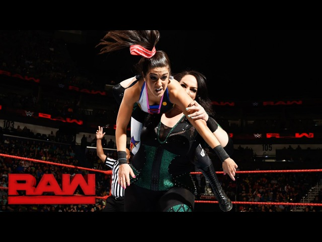 Bayley Sasha Banks vs. Charlotte Flair Nia Jax: Raw, Jan. 9, 2017