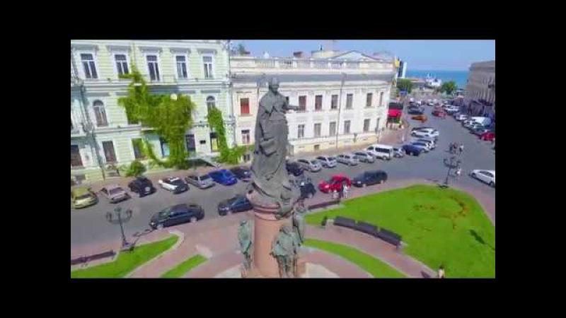 Одесса с высоты птичьего полёта 2017 Odessa aerial video 2017