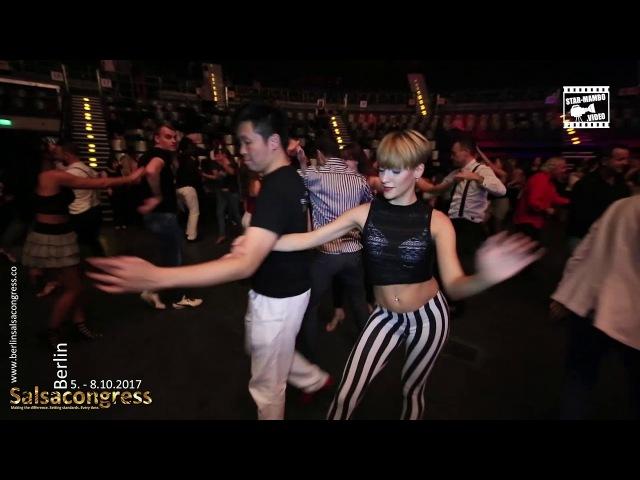 Tienyu Vera - social dancing @ Berlin Salsa Congress 2017