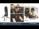 Студийный конденсаторный микрофон Audio-Technica AT2020 USBi — Cardioid Condenser USB Microphone